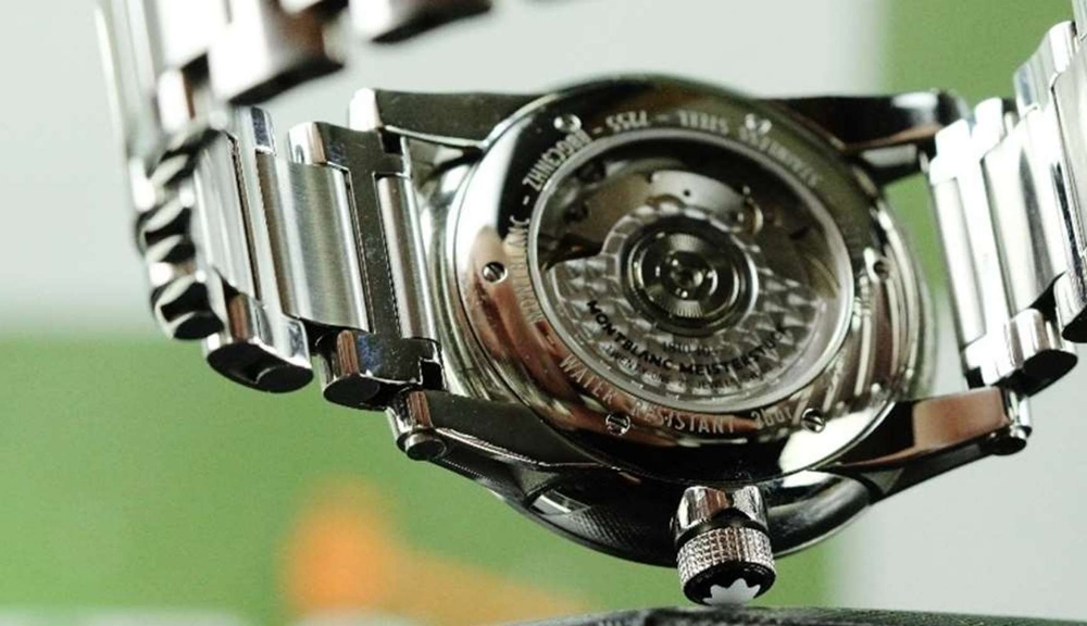 NOW SOLD PLEASE DO NOT BID-Montblanc Timewalker UTC Automatic Bracelet Edition - Image 6 of 10