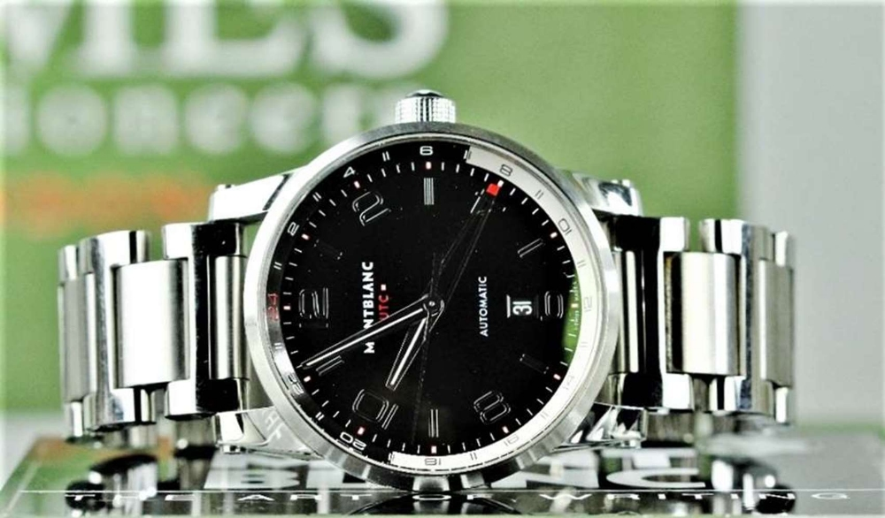 NOW SOLD PLEASE DO NOT BID-Montblanc Timewalker UTC Automatic Bracelet Edition - Image 8 of 10