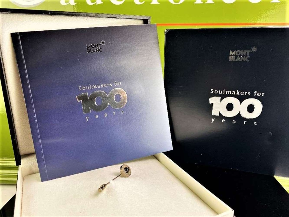 Montblanc Centennary 100 Year Diamond Set Lapel Pin