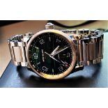 NOW SOLD PLEASE DO NOT BID-Montblanc Timewalker UTC Automatic Bracelet Edition