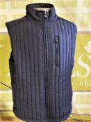 Hackett London Gent`s Designer Gillet & Under Jacket Warmer-Navy