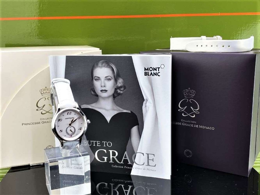 Montblanc Special Edition Princess Grace Of Monaco Diamond Watch - Image 8 of 11