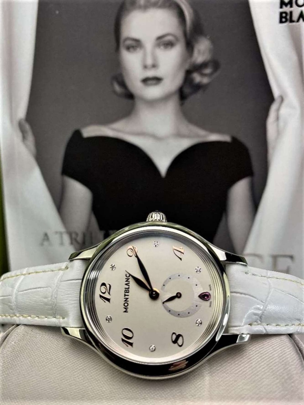 Montblanc Special Edition Princess Grace Of Monaco Diamond Watch - Image 9 of 11