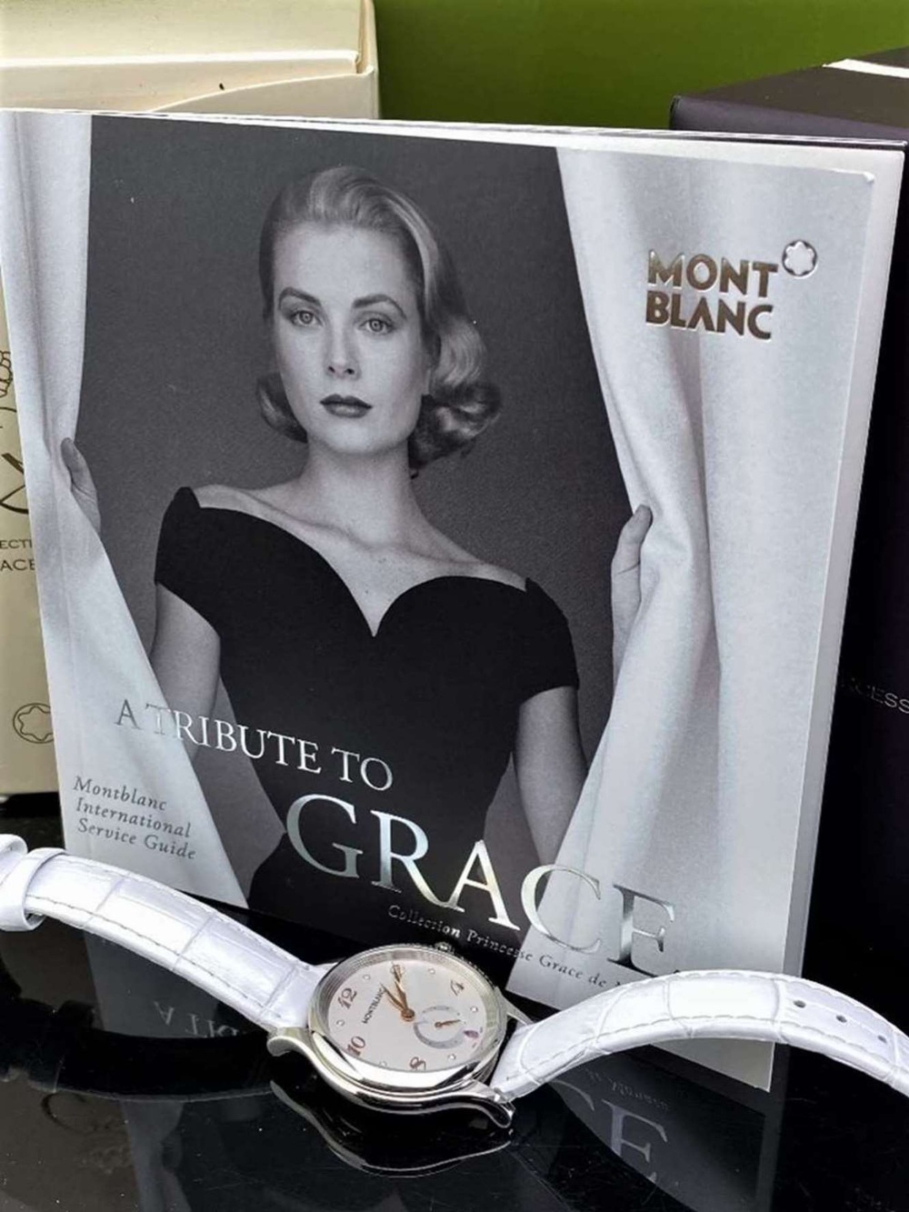 Montblanc Special Edition Princess Grace Of Monaco Diamond Watch - Image 2 of 11
