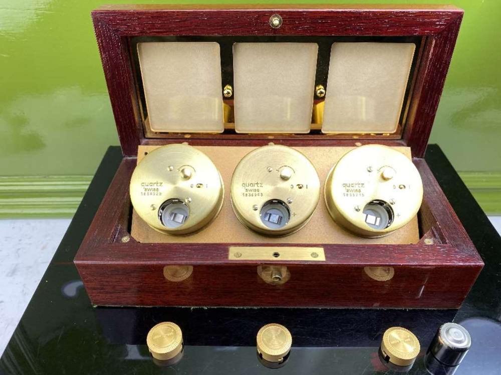 Asprey Of London World Clocks & Picture Frame Presentation - Image 5 of 8