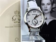 Montblanc Special Edition Princess Grace Of Monaco Diamond Watch