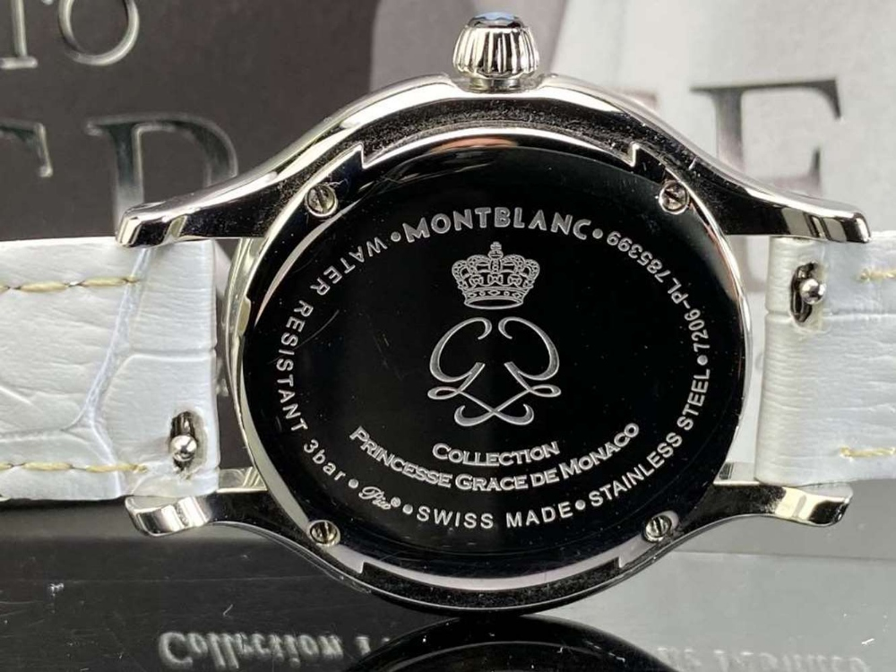Montblanc Special Edition Princess Grace Of Monaco Diamond Watch - Image 4 of 11