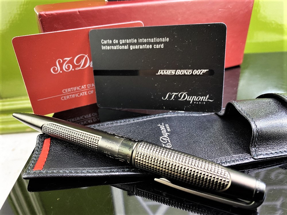 St Dupont- James Bond 007 Special Edition Ballpoint Pen Collectable - Image 3 of 4