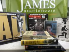 Collection Of Boxing Books On Muhammad Ali-Including Special Edition