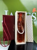 Cartier Crystal Champagne Unopened In Original Wooden Box & Packaging