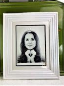JJ Adams Kate Middleton Professionally Framed/Wishbone Edition