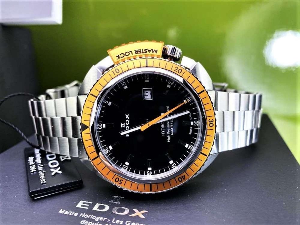 Edox Hydro Sub Mens Swiss Quartz 500m Dive Watch - Image 2 of 11