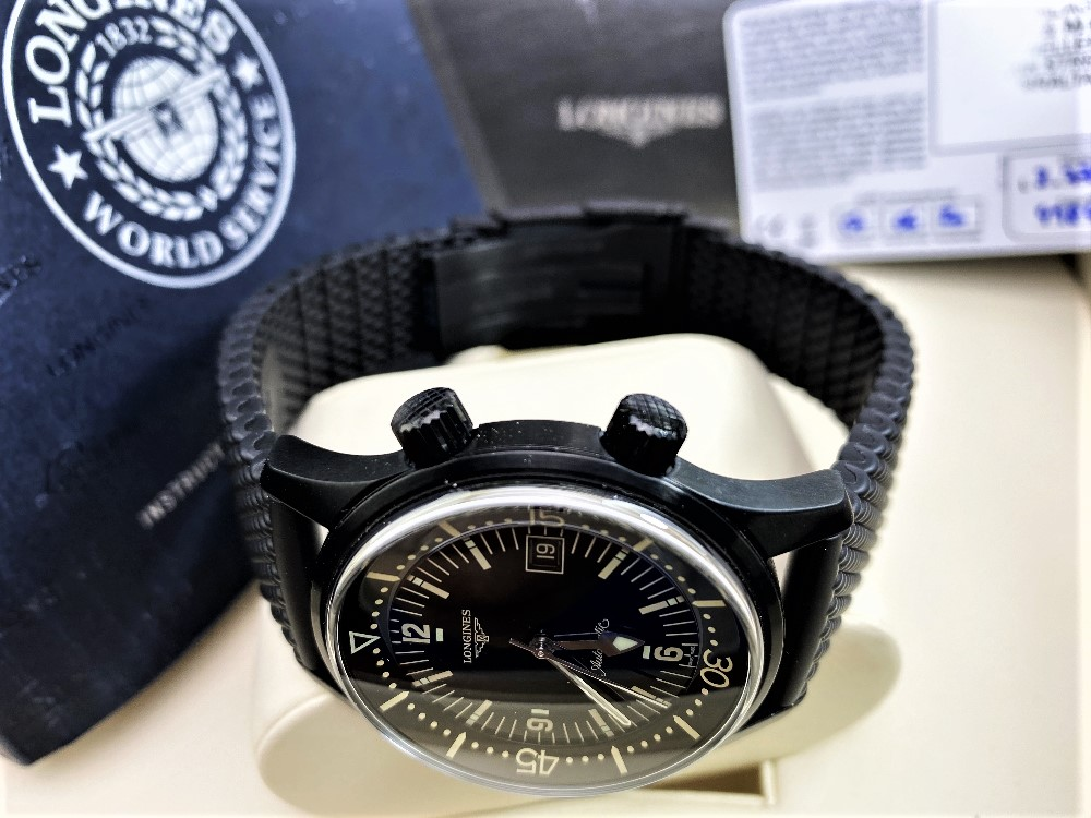 Longines Legend Diver PVD Edition-Current Model 2020 Unused Example, Rrp-£2395 - Image 2 of 10