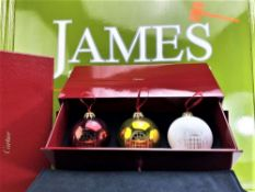 Cartier Special Edition Extra Large Bauble Christmas Set