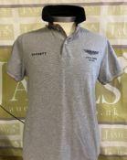 Hackett Aston Martin Racing Polo T-Shirt-Large