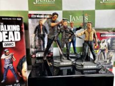Collection of AMC Walking Dead Figures
