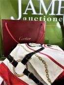 Cartier Les Must de Cloth Silk Scarf
