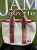 Lacoste Ladies Beach/Spa Bag