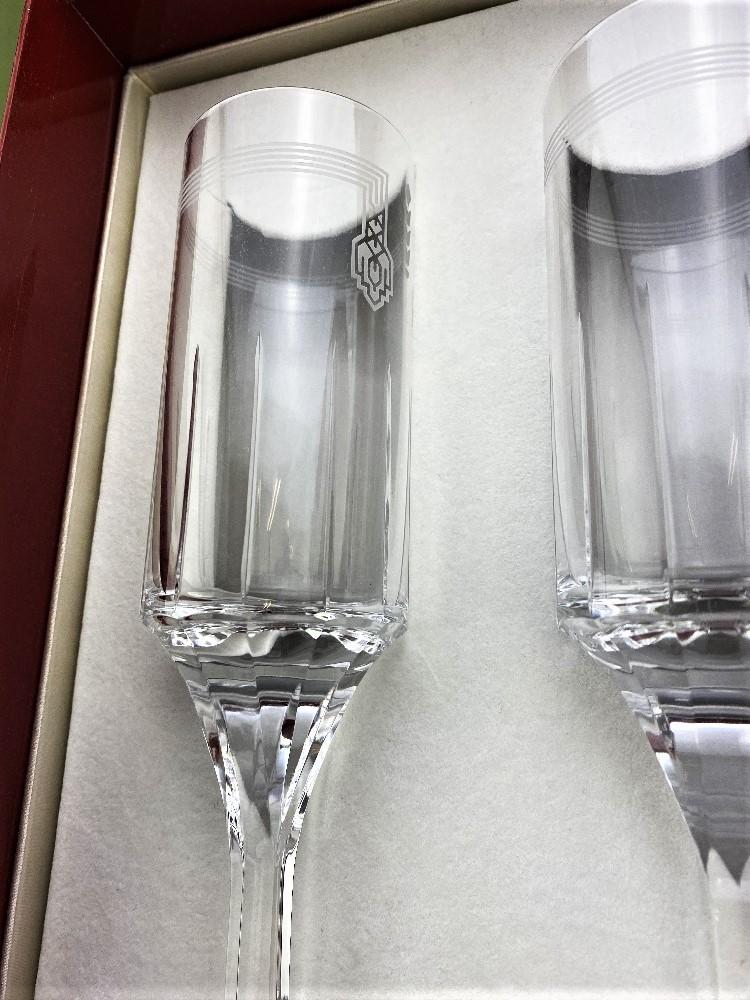 Cartier-Le Maison De Ballet Russes Set of Champagne Flutes-Unused Examples - Image 2 of 5