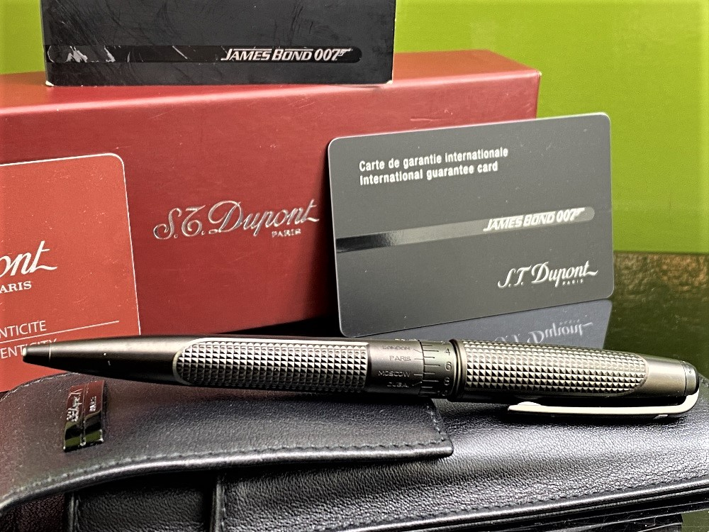 St Dupont- James Bond 007 Special Edition Ballpoint Pen Collectable