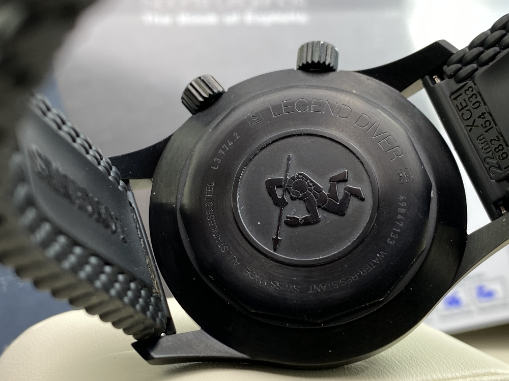 Longines Legend Diver PVD Edition-Current Model 2020 Unused Example, Rrp-£2395 - Image 5 of 10