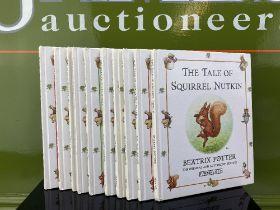 Collection of Hardback Children`s Beatrix Potter Books