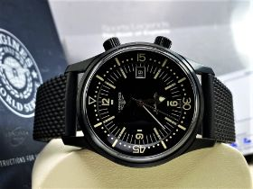 Longines Legend Diver PVD Edition-Current Model 2020 Unused Example, Rrp-£2395
