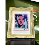 "Andy Warhol 1984 ""Brigitte Bardot"" Lithograph Ltd Edition"