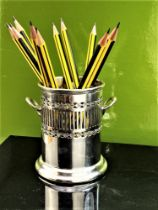 Mappin & Webb Silver Plated Condiment/Pen Holder