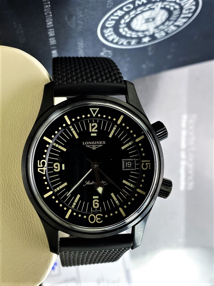 Longines Legend Diver PVD Edition-Current Model 2020 Unused Example, Rrp-£2395 - Image 8 of 10