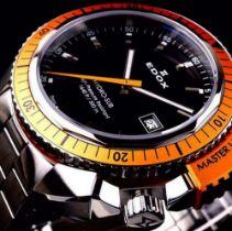 Edox Hydro Sub Mens Swiss Quartz 500m Dive Watch