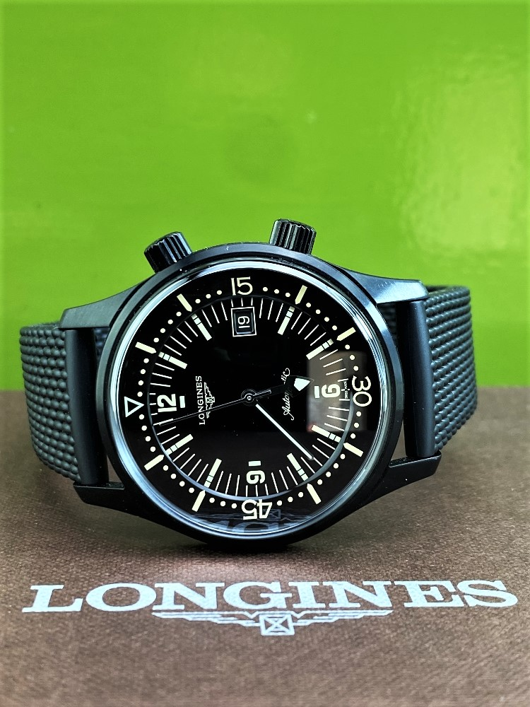 Longines Legend Diver PVD Edition-Current Model 2020 Unused Example, Rrp-£2395 - Image 9 of 10