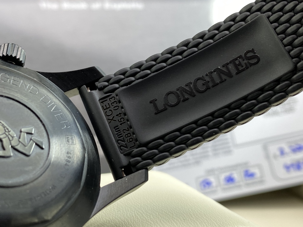 Longines Legend Diver PVD Edition-Current Model 2020 Unused Example, Rrp-£2395 - Image 6 of 10