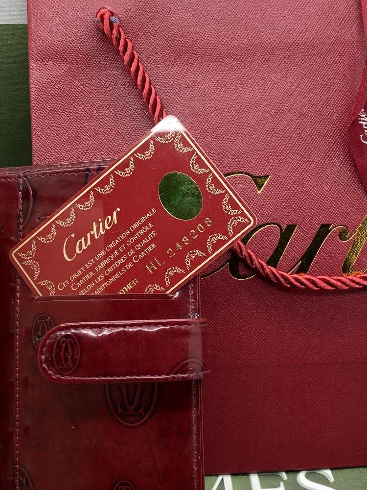 Cartier Paris Gold Leaf Diary/Filofax Ltd Edition - Image 2 of 7