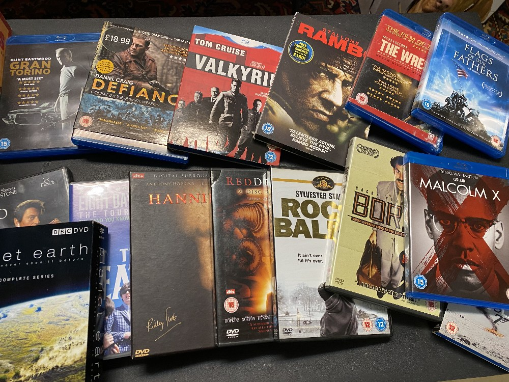 Large Collection DVD`s Including Box sets and Blu-Ray`s - Image 3 of 6