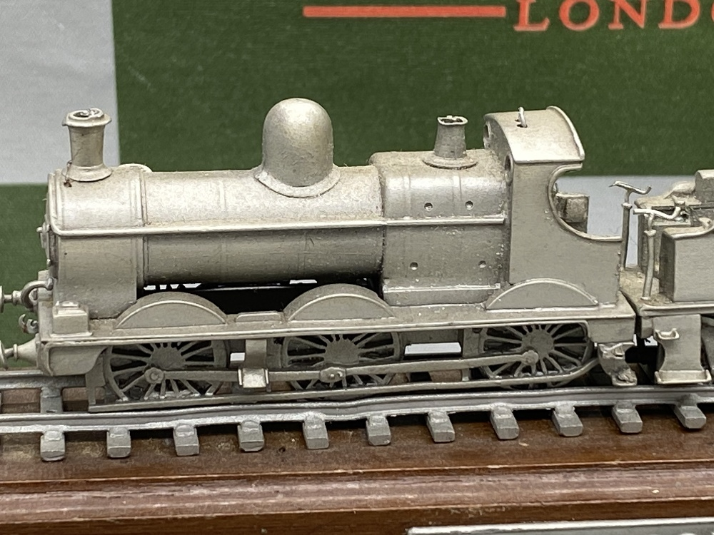 Franklin Mint Worlds Greatest Loco's - Pewter On Wooden Plinth - Dean Goods Edition - Image 2 of 5
