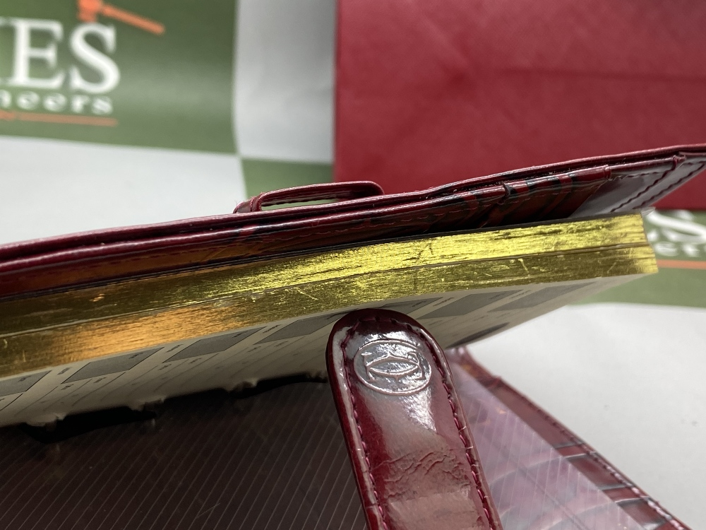 Cartier Paris Gold Leaf Diary/Filofax Ltd Edition - Image 5 of 7