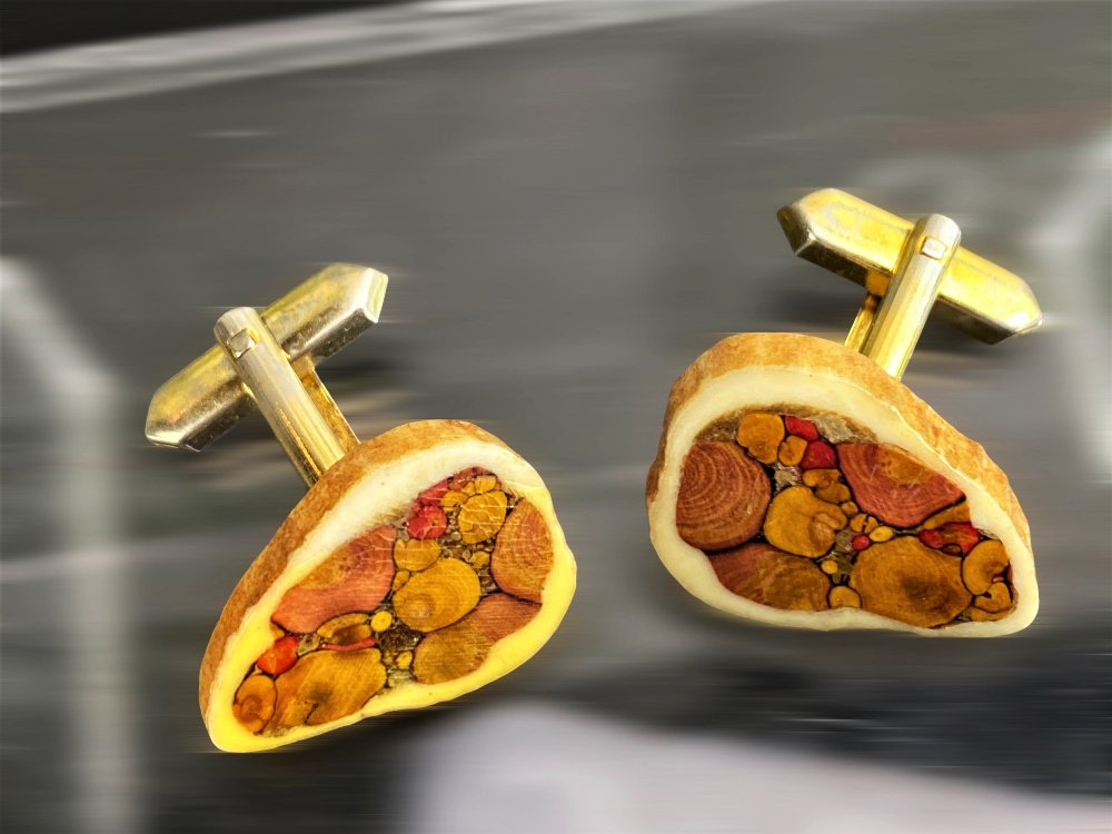 Vintage Pair of Silver Plated Cufflinks