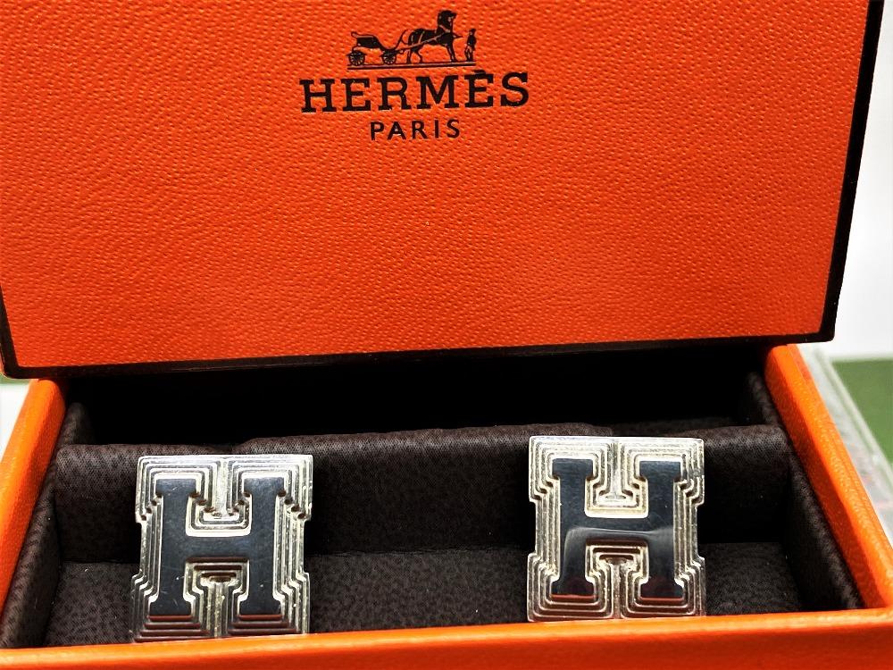 Hermes Sterling Silver 925 Cufflinks - Image 5 of 6
