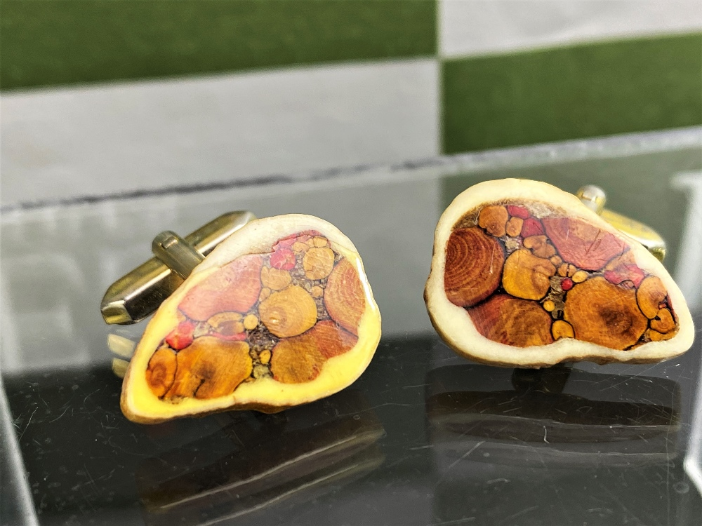 Vintage Pair of Silver Plated Cufflinks - Image 2 of 2