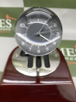 Rare 70th Anniversary 'Codes Rousseau' Table Top Desk Clock Display