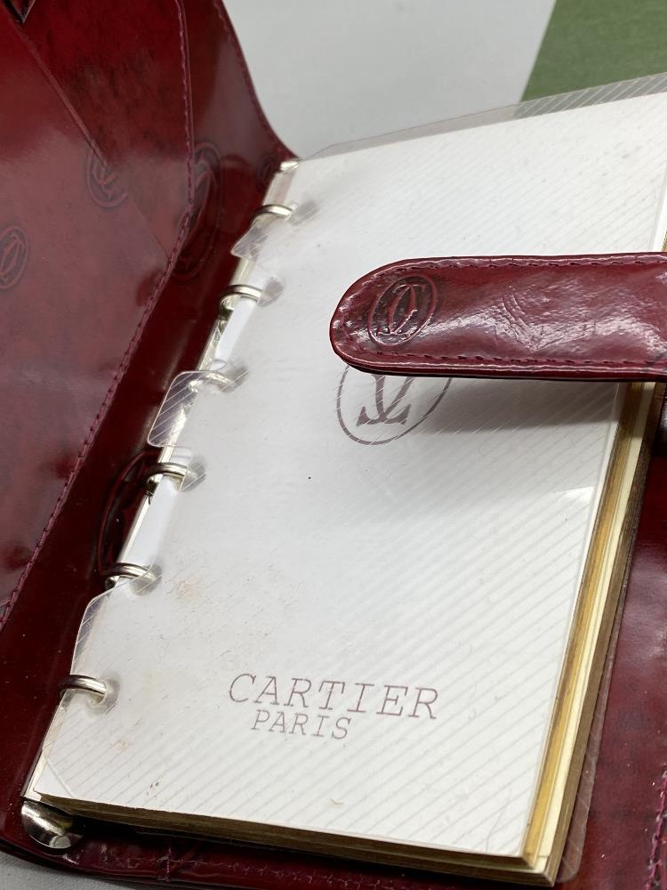 Cartier Paris Gold Leaf Diary/Filofax Ltd Edition - Image 6 of 7