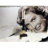 Montblanc Special Edition Ingrid Bergman La Donna Ballpoint Pen. Unused Example.