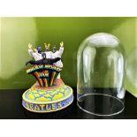 "The Beatles ""Mysterious Tour"" Franklin Mint Musical Diarama & Glass Dome, Ltd Original Edition."