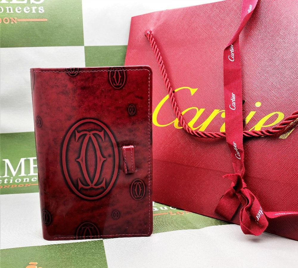 Cartier Paris Gold Leaf Diary/Filofax Ltd Edition - Image 7 of 7
