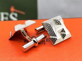 Hermes Sterling Silver 925 Cufflinks