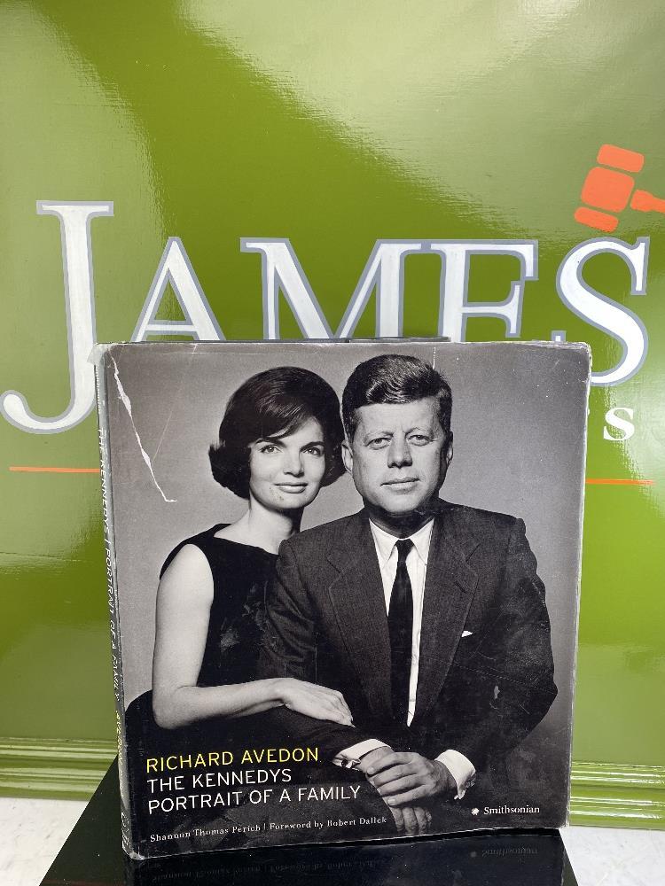 Richard Avedon The Kennedys Portrait of Family Shannon Thomas Perich Smithsonian