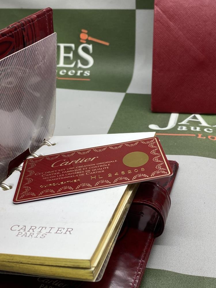 Cartier Paris Gold Leaf Diary/Filofax Ltd Edition - Image 4 of 7