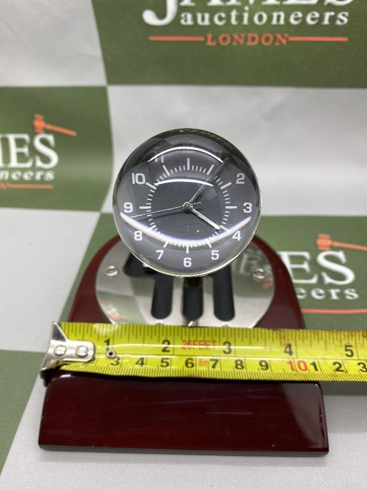 Rare 70th Anniversary 'Codes Rousseau' Table Top Desk Clock Display - Image 4 of 5