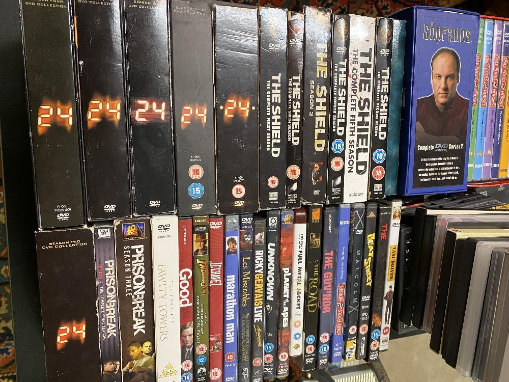 Large Collection DVD`s Including Box sets and Blu-Ray`s - Image 5 of 6
